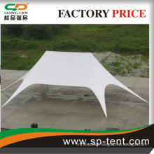large beautiful double star tent used for party event or show