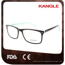 Unisex klassische Stile Bestseller Acetat optische Rahmen und Brillen Brillen