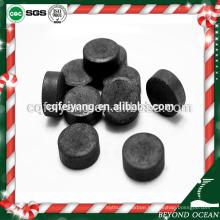 Feiyang shisha colored smoke coal briquettes price for sale