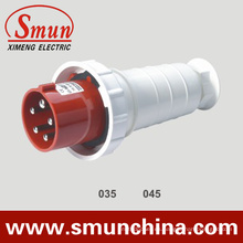 Enchufe eléctrico de 5pin 63A / 125A, enchufe masculino de Cee, enchufe impermeable de IP67 6h