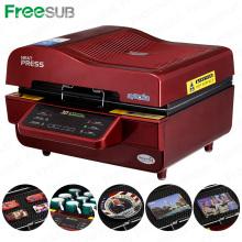 FREESUB Sublimación Personalizada Cubiertas Móviles Heat Press Machine