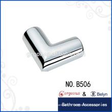 90 degree connecting piece shower door hinge