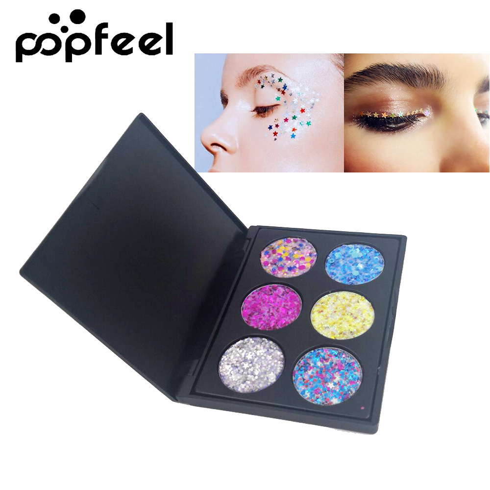 6 Colors Gligger Eye Shadow 9