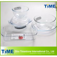 High Borosilicate Glass Material Bakeware Item