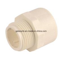 Haute qualité PVC Male Thread Plug pour donner de l'eau