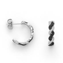 Boucles d'oreilles en argent plaqué or micro argent pour la mode 925 (KE3003)