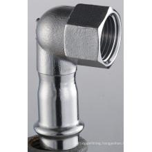 35*1 1/4 En 316L Elbow 90 Female X Press