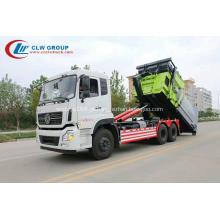 VENDA QUENTE Dongfeng 16cbm caminhão de lixo removível