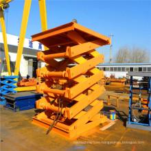 Plataforma elevadora de tijera hidráulica Sjy 1.0-8