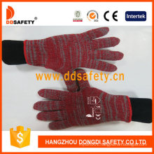 Wholesale Mixed Color Polycotton Working Safety Glove Factory