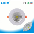 12W hochqualitatives einstellbares eingebettetes LED-Downlight