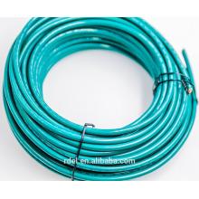 Cable enfundado de nylon con aislamiento termoplástico del conductor de cobre de THHN