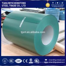bobina de aço revestida da cor do preço de fábrica / chapa de aço revestida cor / chapa de aço galvanizada