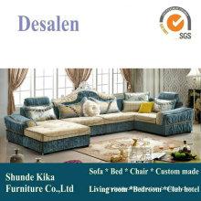 Dubai New Classic Fabric Sofa in Living Room Furniture (611B)