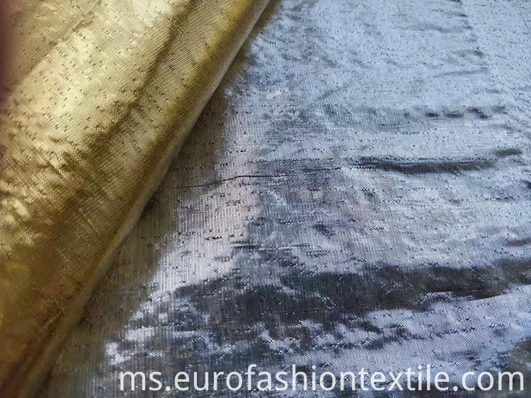 Shiny Metallice Dot Fabric