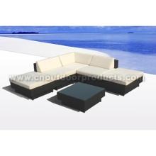 Mobília do Rattan sofá