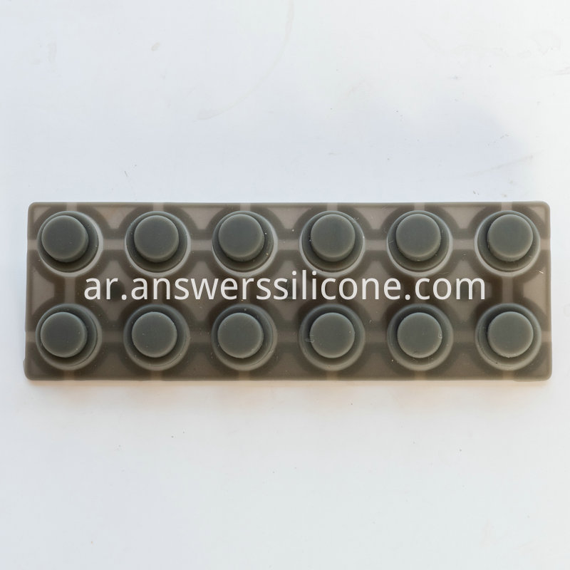 Silk Rubber Keypad