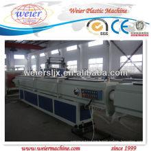 Máquina de la protuberancia del tubo de HDPE PP, cadena de producción con el diámetro de 75m m-250m m