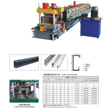 C z purline profile roll membentuk mesin