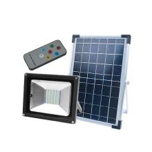 Proyector al aire libre impermeable IP65 delgado con energía solar