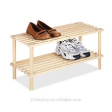 Heißer Verkaufs-hölzerner Schuh-Präsentationsständer