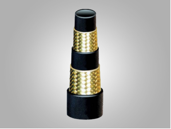 Wire Braided 1-layer Rubber Pipe