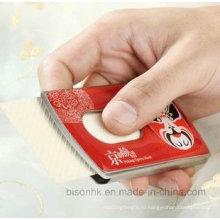 Держатель визитной карточки из нержавеющей стали высокого качества, выдвигаемый держатель карты памяти
