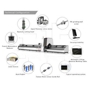 Metal Laser Cutting Machine for Stainless Steel