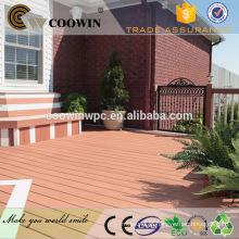 2016 engenharia casas pré-fabricadas decking wpc ao ar livre