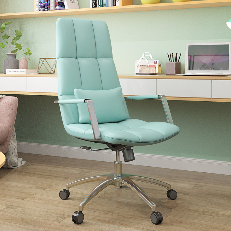 Green PU leather Leisure Chair
