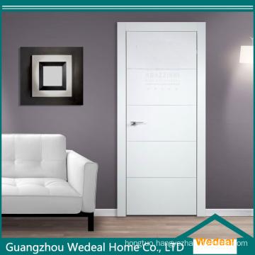 Customize Interior Modern Flush Solid Wooden Door for Villa