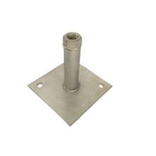 Customized Stamping Welded Sheet Metal Pipe Support Brackets Single-side Bracket,triangle Bracket Stainless Steel, Steel Dasheng