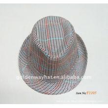 2014 Mens billige Mode Panama Hüte Baumwolle Fedora Hüte zum Verkauf