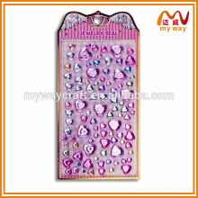The princess series acrylic mirror sticker, mobile phone stick
