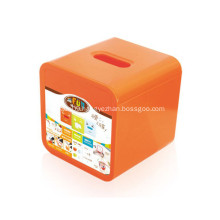 Plastic Tissue Box for Wholesale Promotional Gift