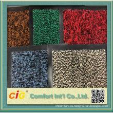 Hogar y del Hotel uso goma forro azulejos de alfombras comerciales