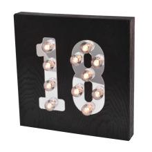 Nueva luz LED con edad para la decoración del hogar