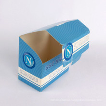 Nach Maß faltender Verpackungskartonflip-Papierkasten