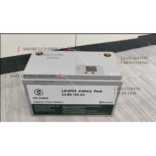 Batterie au lithium Bluetooth 12V 100Ah