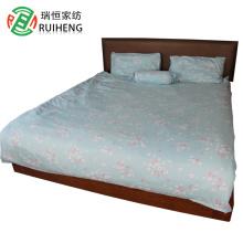 100% cotton melange duvet cover set bedding set jersey bed sheet China supplier
