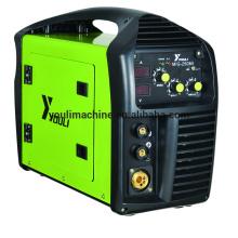 Portable IGBT dc inversor MIG / MMA máquina de solda MIG-250MI