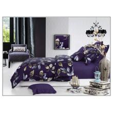 2015 NOVO 100% algodão cetim 205T Twill estilo Reativo imprimir roupa de cama de luxo de luxo set