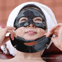 Custom logo black hydrogel mask for cleaning with certificate