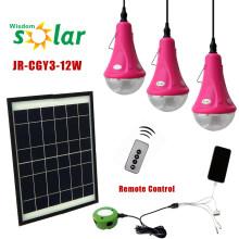 Luz casera solar portable, las luces solares interiores, decoración hogar