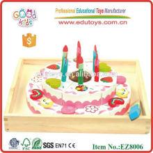 Gâteau d'anniversaire Jouets d'enfants en bois