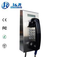 Téléphones SIP / VoIP de la prison Rugged, service téléphonique de service bancaire