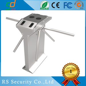Train Station  Rotating Waist Height Turnstile