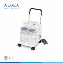AG-D0031 Ventes 2500mm deux bouteille 32 / L min aspirateur d'expectoration portable électrique aspirateur médical