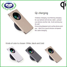 Housse en cuir anti-poussière Qi Receiver Housse pour chargeur sans fil pour LG G4