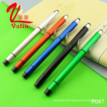 Multi-Color Highlighter Plastic Pen Günstige Customized Logo Pen auf Verkauf